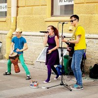 Уличные музыканты :: Alёna L.