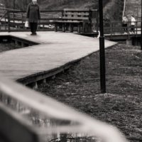 На мостках :: Caba Nova