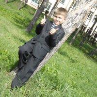 Сын в первый класс пошёл)) :: Надежда Федяева