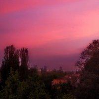 Вечерний вид из окна.. :: Елена