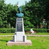 Памятник Васе Алексееву.(Сад им.9 января) :: Александр Лейкум