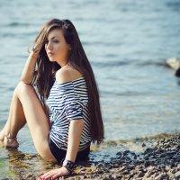 Девушка в тельняшке :: Анастасия Бондаренко