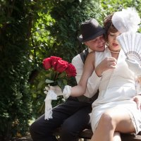 свадьба в стиле Чикаго :: Елена Лялина