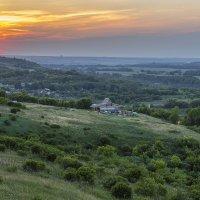 Село Борщево на закате. :: Юрий Клишин