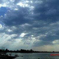 вечер над Голубым озером :: Владимир Сачко
