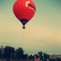Воздушный шар :: Евгения Глебова