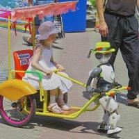 Девочка и Робот :: Валерий Дворников