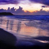 Фиолетовый закат :: Юрий Вайсенблюм