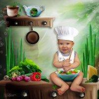 Мой маленький поваренок :: Svetlana Gordeeva