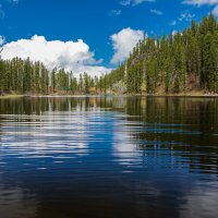 Горное озеро :: Sergey Oslopov