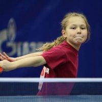 Маленькая,но уже звездочка в теннисе :: Вячеслав