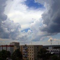 Облака перед грозой :: Юрий Стародубцев