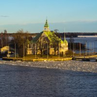 Акватория Хельсинского порта :: Владимир Демчишин