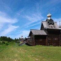 Хохловка, церковь Преображения :: Дмитрий Зубенин