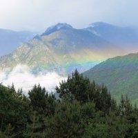 Радуга в горах) :: Сослан Цогоев