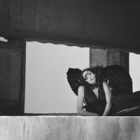 Черный ангел :: Надюшка Кундий