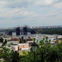 Вид с Замковой горы на Старый Подол. :: Владимир Бровко