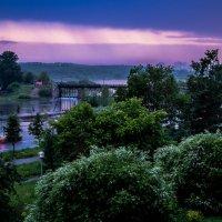 Дождь, закат :: Марк Э
