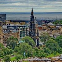 Вид с крепости на Эдинбург :: Николай Фарионов