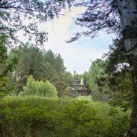 Храм в лесу :: Анатолий