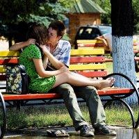 Влюблённая парочка :: Михаил Тищенко