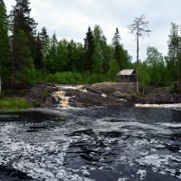 Рускеальские водопады на реке Тохмайоки (Tohmajoki) :: Андрей Ягодко