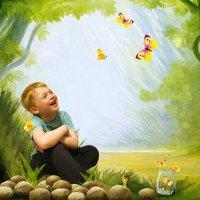 Ловец бабочек :: Ирина Kачевская