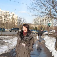 Зима в городе :: Лариса Русакович