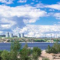 Мост через Волгу :: Марина Скоробогатова