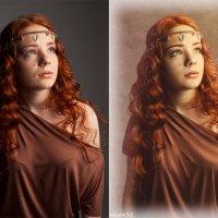 греческая нимфа (до и после) :: Veronika G