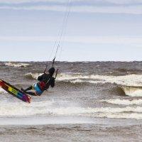 Кайтсёрфинг на Ладоге :: Андрей Черемисов