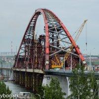 Бугринский мост в Новосибирске :: Alexey Bogatkin