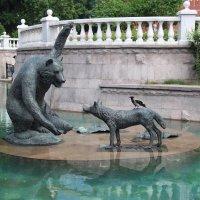 медведь, волк и ворона :: Александр Корнелюк