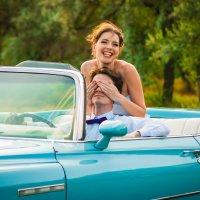 Свадьба и кабриолет :: Jenya Kovalchuk