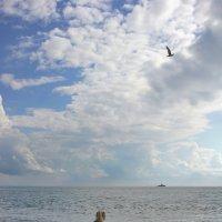 Там,где море с облаками... :: Виолетта