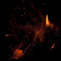 ...огненные брызги... :: Андрей Гр