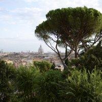 Вид на Рим с Авентийского холма :: Сергей Лошкарёв