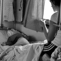 ...в поезде... :: Ольга Нарышкова