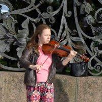 Концерт на улице :: Aнна Зарубина