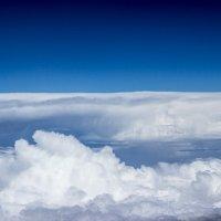 Небо. Вид с окна самолета :: Татьяна Жуковская