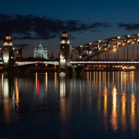 Мост Петра Великого :: Андрей Тульчинский