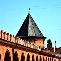Тула. Стена кремлёвского сада. :: Аксана Чертихина
