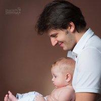 Папа и сын) :: Екатерина Дашаева