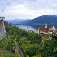 Монастырь Мадонна дель Сассо, Локарно, Швейцария :: Alexandre Lavrov