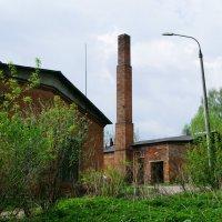 Бывшая котельная школы и столовая :: Juliya Fokina