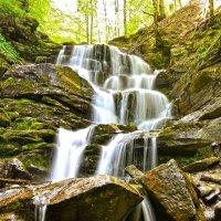 Водопад Шипот, Закарпатская область , Украина :: Андрей Зелёный