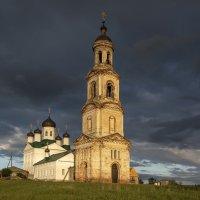 Деревня Нуча,Нижегородская область,Церковь Спаса Всемилостивого. :: Алексей -