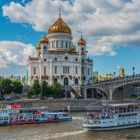 На Москве-реке :: Надежда Лаптева
