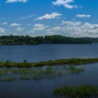 Вид на озеро :: vladimir Bormotov