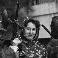 У войны не женское лицо... :: Андрей Антонов